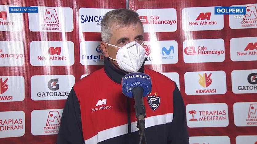 """Marcelo Grioni: """"Fuimos dominadores del partido, pero se gana con goles y no con situaciones"""" (VIDEO)"""