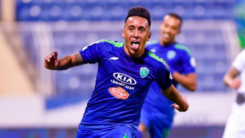 Selección Peruana: gol y asistencia de Christian Cueva en la Liga Profesional Saudí (VIDEO)