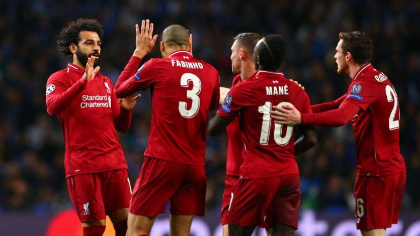 Champions League: Liverpool eliminó al Porto y se medirá con el Barcelona en semifinales