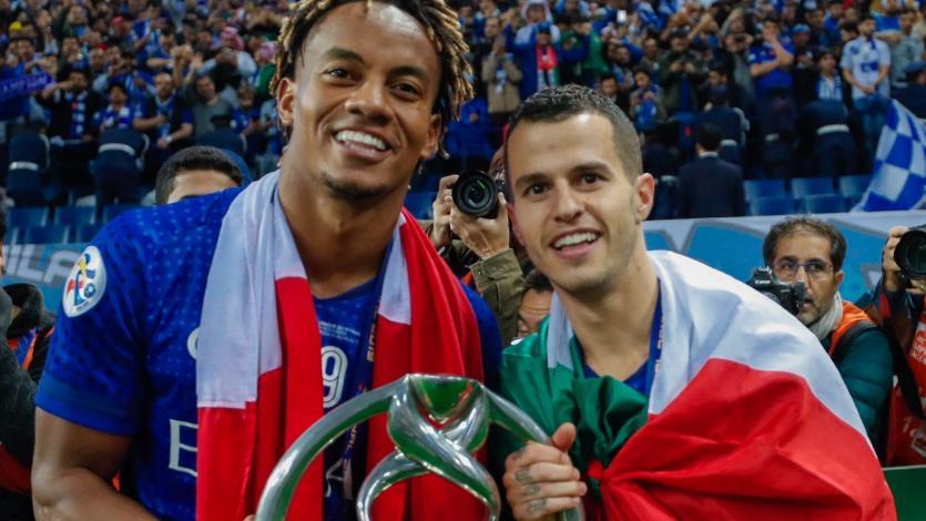 André Carrillo se coronó como campeón de la Champions League de Asia con el Al-Hilal