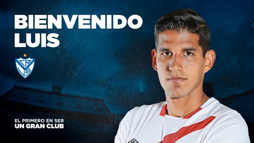 Luis Abram es nuevo jugador de Vélez Sarsfield