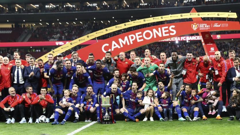 Copa del Rey: Barcelona se coronó campeón tras golear 5-0 a Sevilla