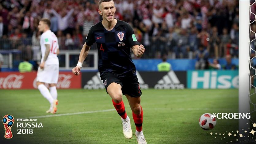 Rusia 2018: Ivan Perisic fue la figura en la clasificación de Croacia a la gran final
