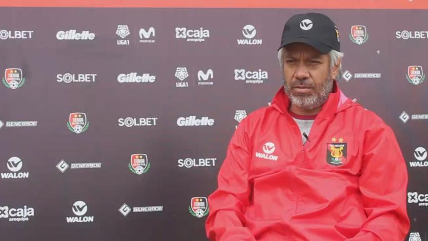"""Marco Valencia: """"Melgar tiene jugadores para estar arriba y pelear cosas importantes"""""""