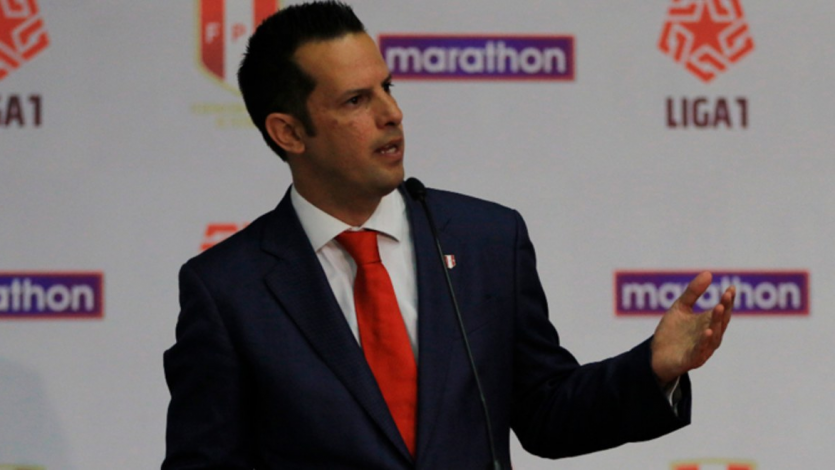 Víctor Villavicencio habló sobre el sorteo de la Fase 2 de la Liga1 Movistar y la Liga2 (VIDEO)