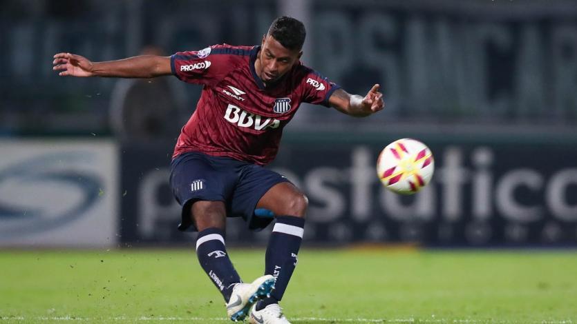Miguel Araujo jugó en la caída de Talleres ante Unión Santa Fe