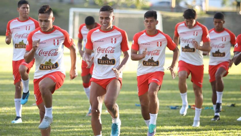 Selección Peruana Sub 23 ya entrena en Colombia