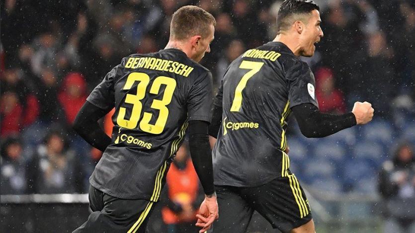 Juventus supera a la Lazio sobre la hora y es más líder que nunca