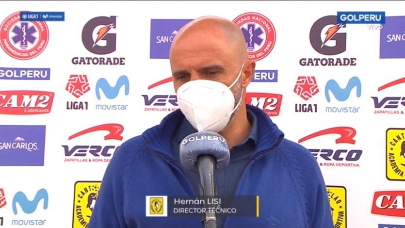 Hernán Lisi, entrenador de Cantolao: