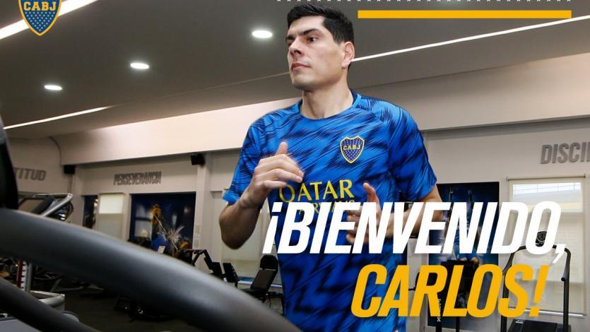Carlos Lampe es nuevo arquero de Boca Juniors
