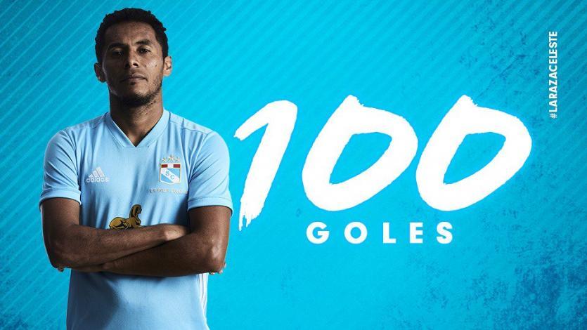 Sporting Cristal: Carlos Lobatón celebra 100 goles con los celestes