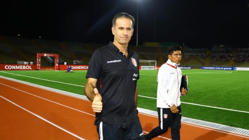 Carlos Silvestri, DT de la Selección Peruana:
