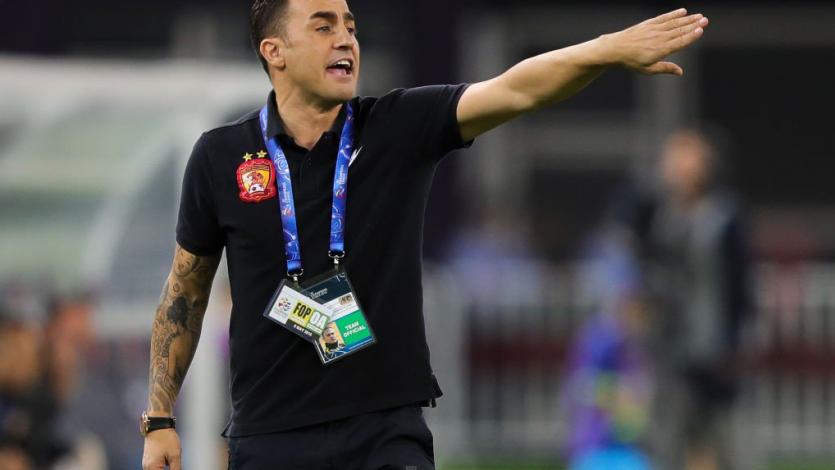 Fabio Cannavaro es nuevo entrenador de China