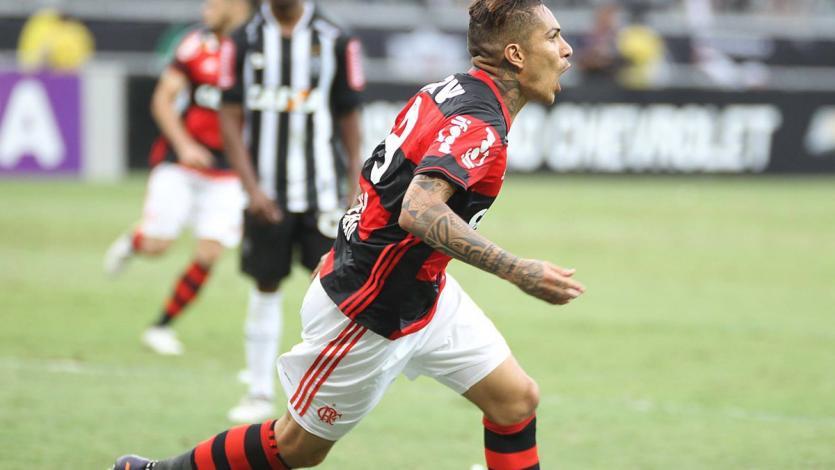 Paolo Guerrero se reencontró con el gol en Flamengo