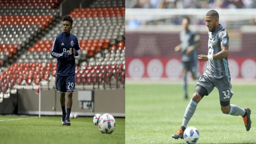 Alexi Gómez y Yordy Reyna vieron acción en la MLS