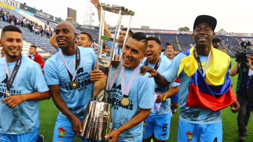 Deportivo Binacional se consagró como campeón de la Liga1 Movistar