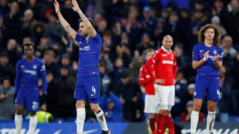 Cesc Fabregas se despide de la Premier League tras más de 500 partidos