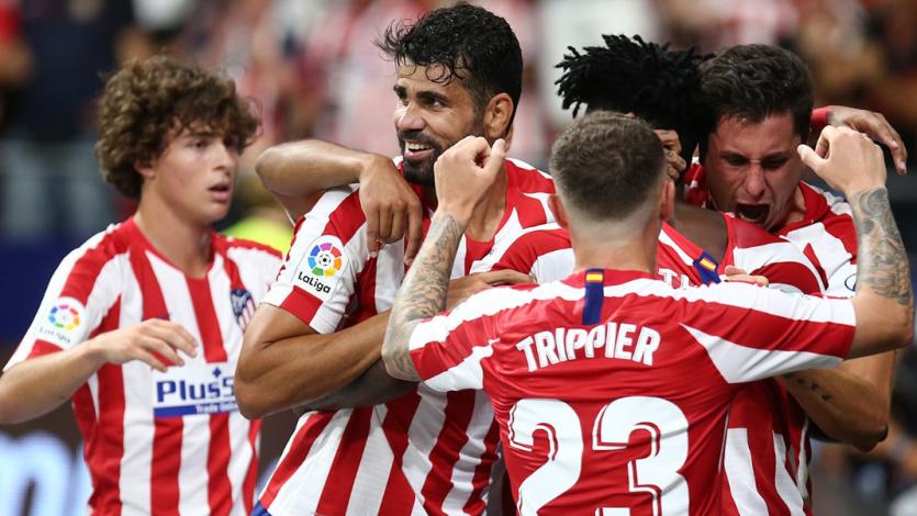 Atlético Madrid superó al Eibar mientras que el Real Madrid no pasó del empate ante Villarreal