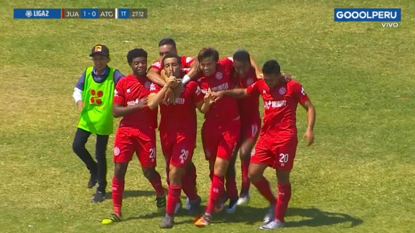 Juan Aurich superó 2-0 a Atlético Grau por la fecha 12 de la Liga2