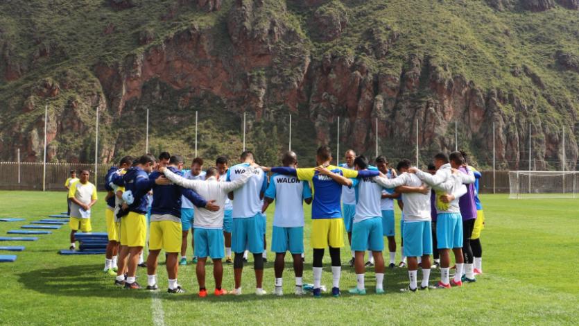 Real Garcilaso continúa preparándose para la Copa Libertadores