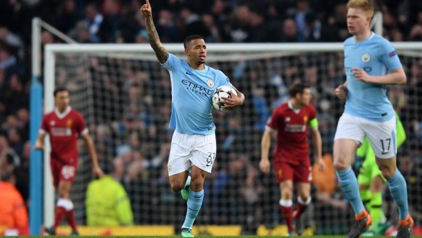 Champions League: Gabriel Jesús marca el segundo gol más rápido del Manchester City