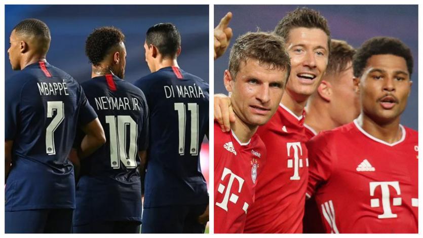 Champions League: el tridente del Bayen y del PSG mano a mano