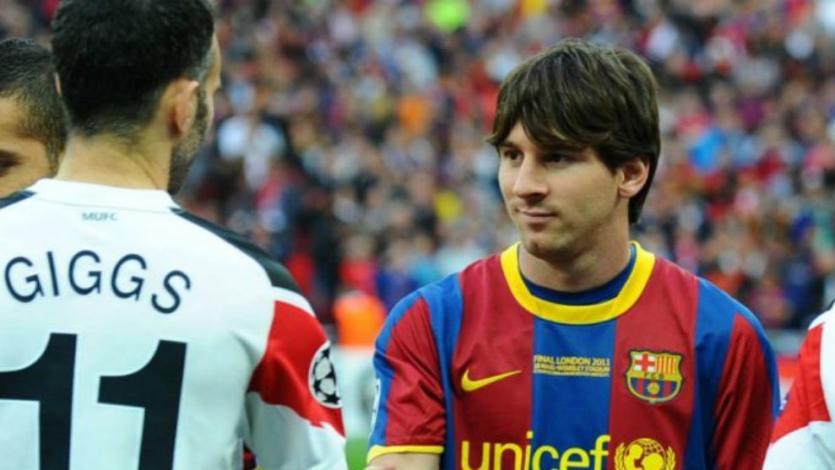 Champions League: Lionel Messi igualó un récord que solo tenía Ryan Giggs