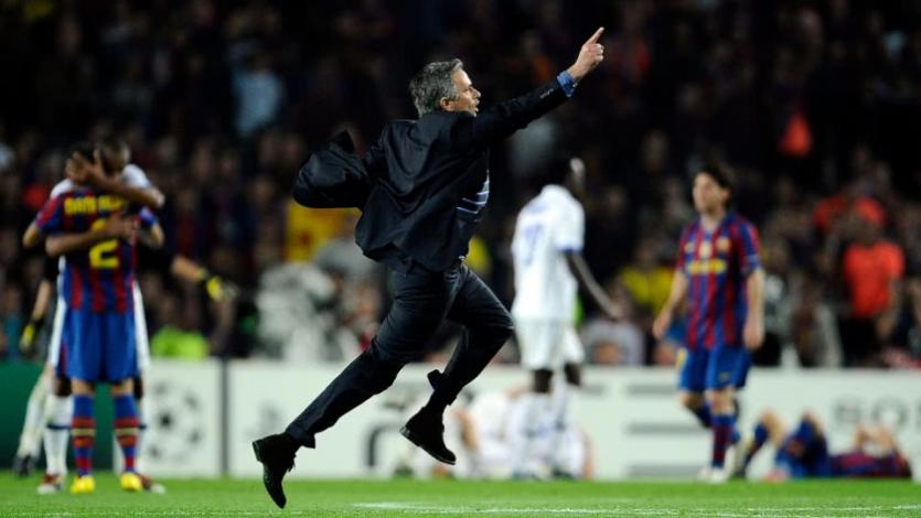 Champions League: se cumplen 10 años del 'golpe' del Inter de Mourinho al Barcelona (VIDEO)