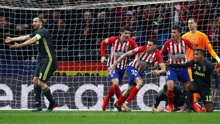 Champions League: Juventus va por la remontada frente al Atlético de Madrid