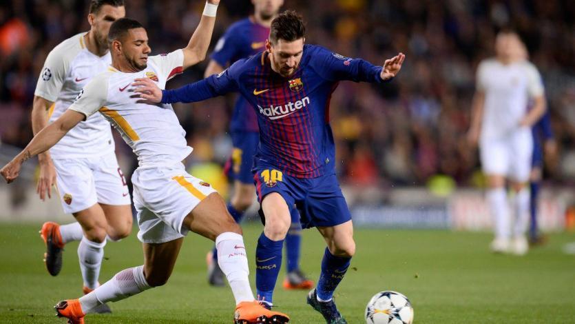 Champions League: los números del duelo entre Roma y Barcelona