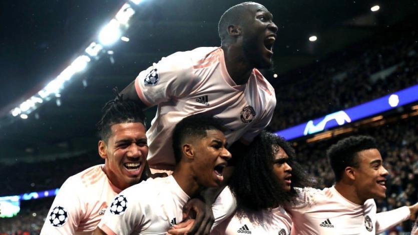Champions League: Manchester United elimina al PSG en París (3-1)