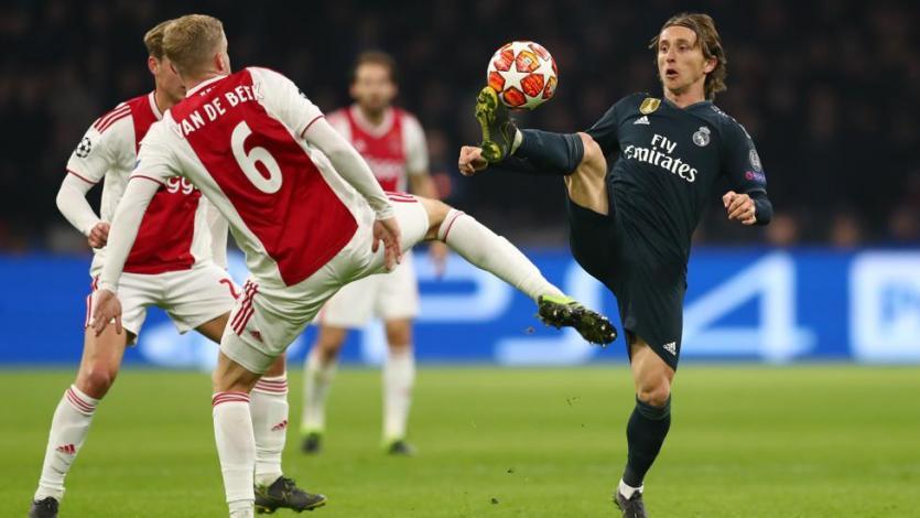 Champions League: Real Madrid defiende su ventaja frente al Ajax