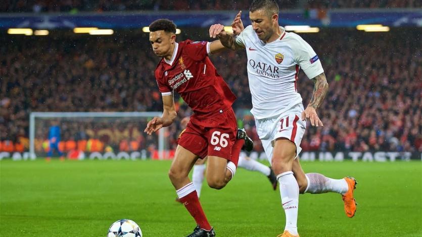 Champions League: Roma recibe al Liverpool aferrándose a la remontada