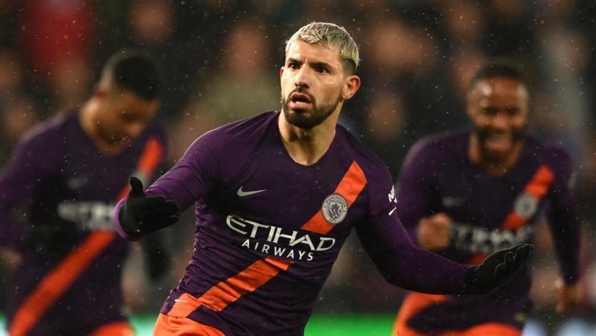 Champions League: Sergio Agüero lidera la línea del Manchester City