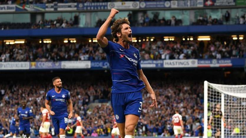 Chelsea consigue la victoria ante Arsenal (3-2)