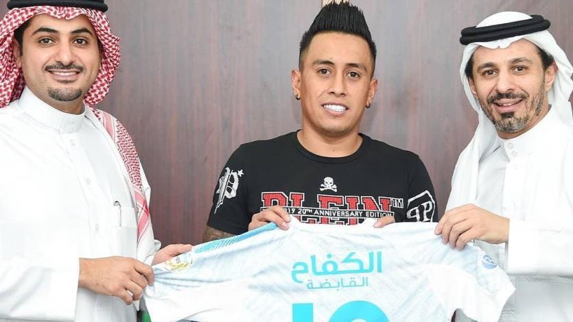 Christian Cueva continuará en el Al Fateh de Arabia Saudita hasta el 2023