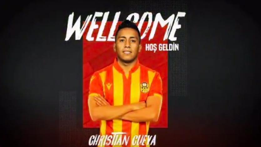 Christian Cueva fichó por el Yeni Malatyaspor de la Superliga de Turquía (VIDEO)