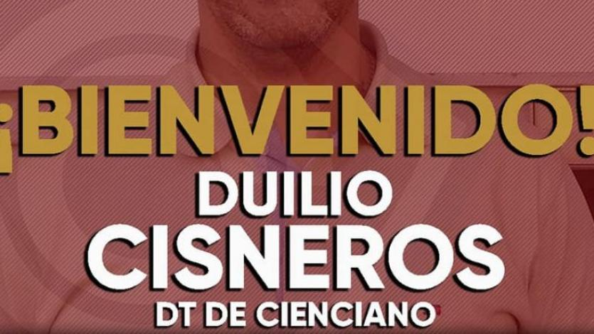Cienciano: Duilio Cisneros firma como nuevo entrenador para el 2019