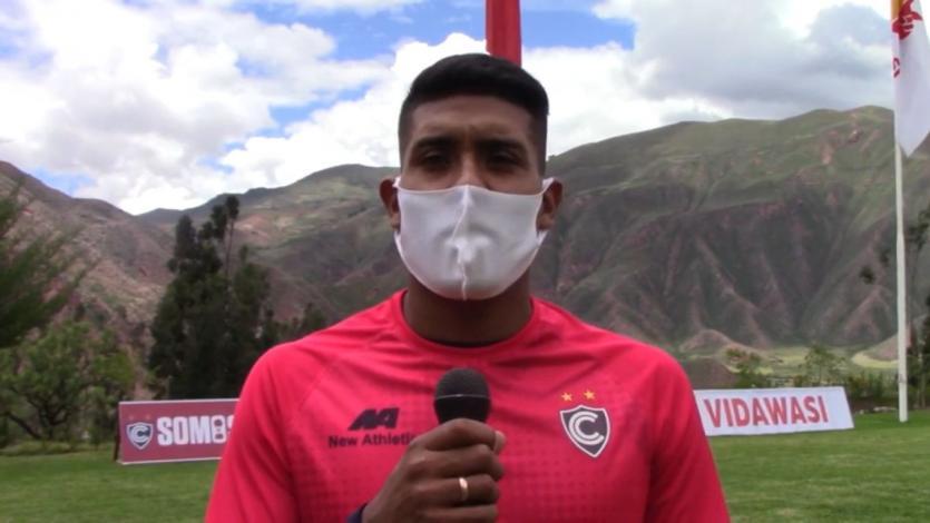 Raziel García y su reto con Cienciano para el 2021: