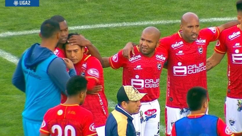 Cienciano goleó 4-0 al Atlético Grau en Cusco y trepó a la punta de la Liga2 (VIDEO)
