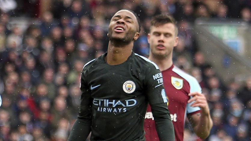 Manchester City dejó escapar el triunfo sobre el final y empató con Burnley