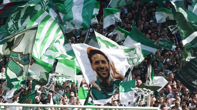 Werder Bremen recordó uno de los goles récord de Claudio Pizarro en la Bundesliga (VIDEO)