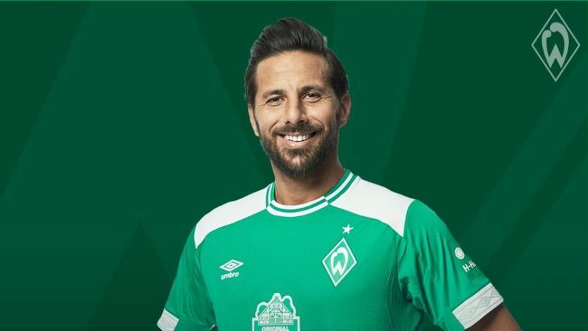 Claudio Pizarro anota su primer gol de la temporada con el Werder Bremen