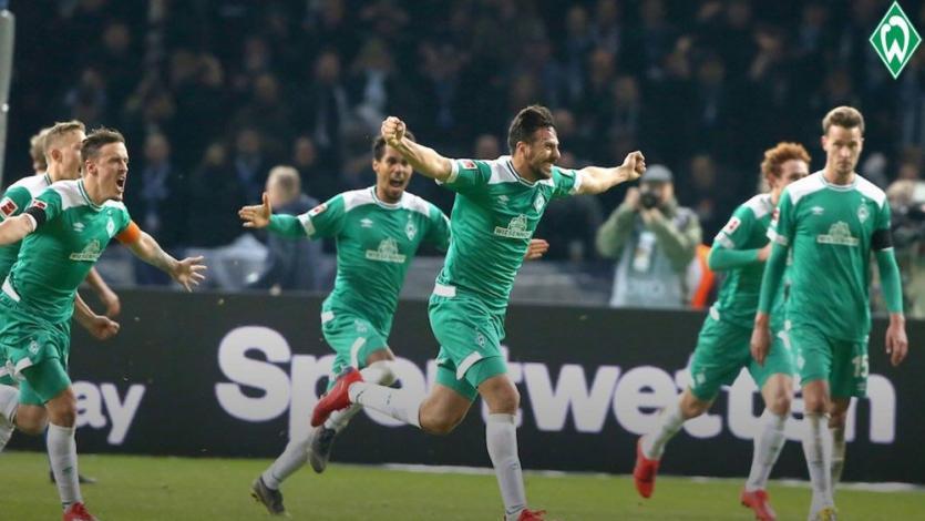 Bundesliga: Claudio Pizarro figura en el 11 ideal de la fecha tras su golazo (VIDEO)