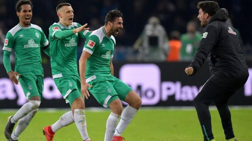 Claudio Pizarro rescata un punto para el Werder Bremen