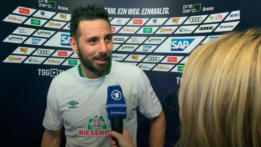 Claudio Pizarro tras triunfo del Werder Bremen: