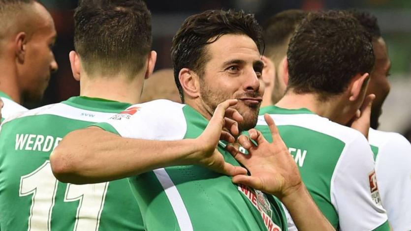Bundesliga: Claudio Pizarro hizo golazo de zurda y le dio el empate al Werder Bremen (VIDEO)