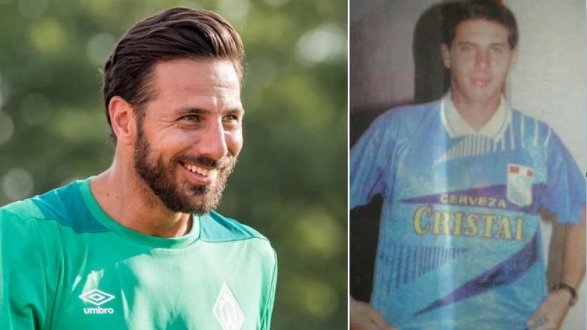 Claudio Pizarro y la foto con camiseta de Sporting Cristal que no recuerda por qué fue