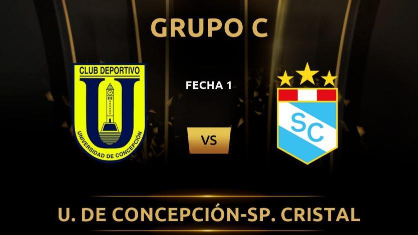 Sporting Cristal vs. U. De Concepción: Los datos del partido del grupo C