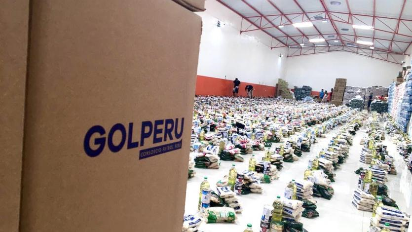 Coronavirus: Consorcio Fútbol Perú donó 60 toneladas de víveres para la población más vulnerable (VIDEO)